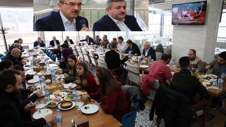 Vali Yavuz, Fatsalı Gazetecilerle Kahvaltı Programında Biraraya Geldi