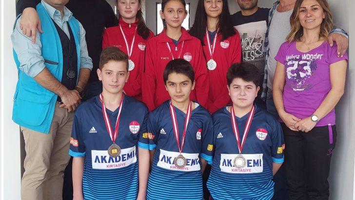 Altınordu Atatürk Ortaokulu  Atıcılık Sporunda Önemli Başarı Elde Etti