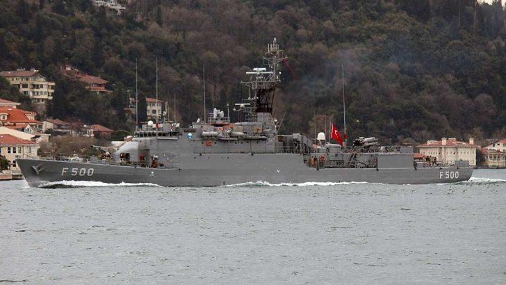 Bozcaada Gemisi, Deniz Yıldızı Tatbikatı Kapsamında Ordu'da