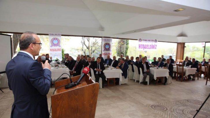 Vali Yavuz, İstanbul'da Yaşayan Ordulu Sanayici ve İşadamlarıyla Bir Araya Geldi