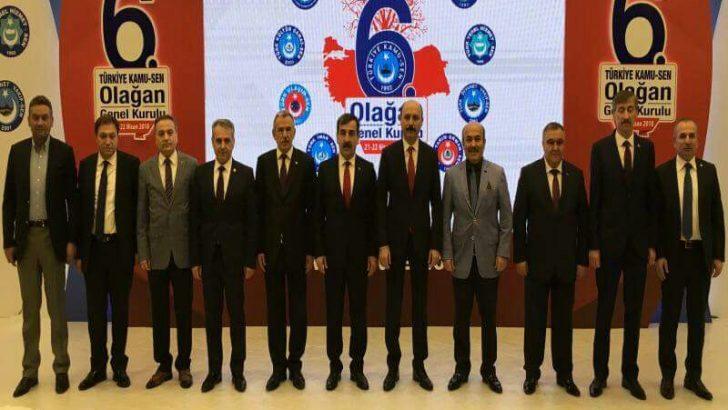 Türkiye Kamu-Sen'in Yeni Genel Başkanı Önder Kahveci