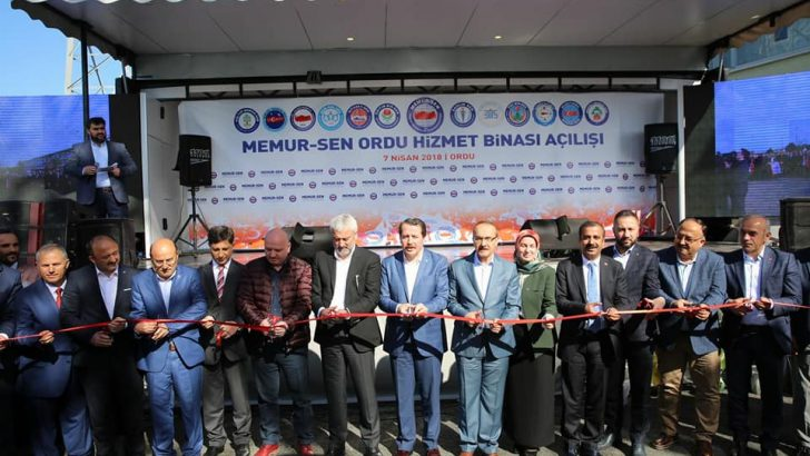 Ordu Memur Sen Hizmet Binası Törenle Açıldı