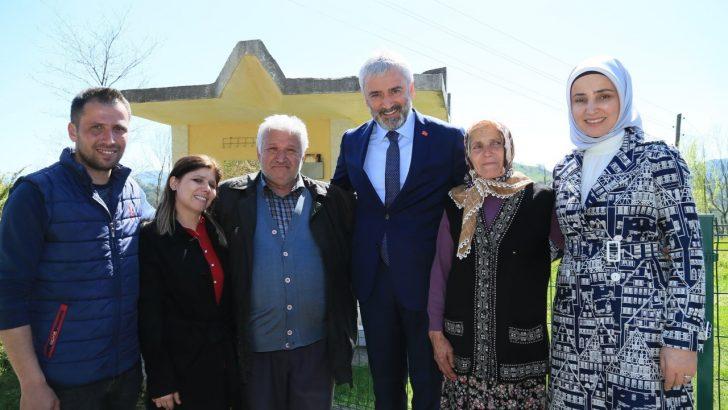 Başkan Yılmaz, Ekinciler Mahallesi'ni Ziyaret Etti