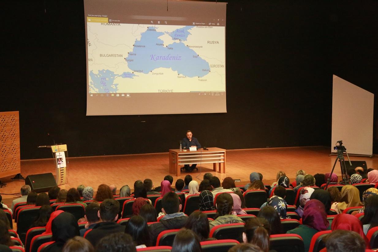 Ordu Üniversitesinde Kırım Tatarlarının Sürgünü Konferansı Verildi