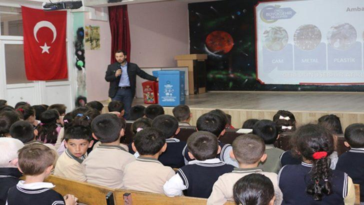 Büyükşehir Belediyesi 19 İlçede Çevre Eğitimi Düzenlendi