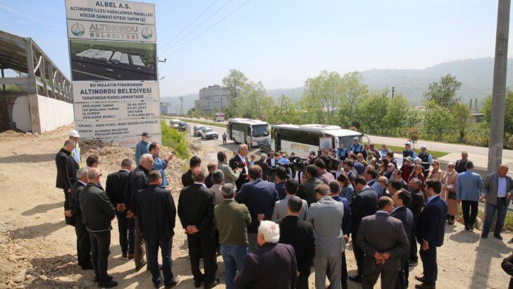 Başkan Tekintaş, Belediye Çalışmalarını Yerinde Anlattı