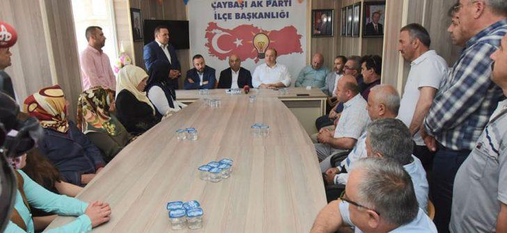 AK Partili Ordu Milletvekilleri, Teşekkür Turunda