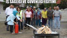 Altınordu Belediyesi Personellerine İş Sağlığı Ve Güvenliği Eğitimi Verildi
