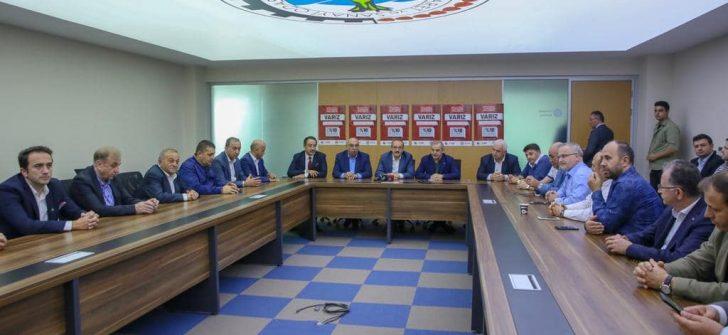 Vali Yavuz, İş Adamlarıyla İstişare Toplantısında Bir Araya Geldi