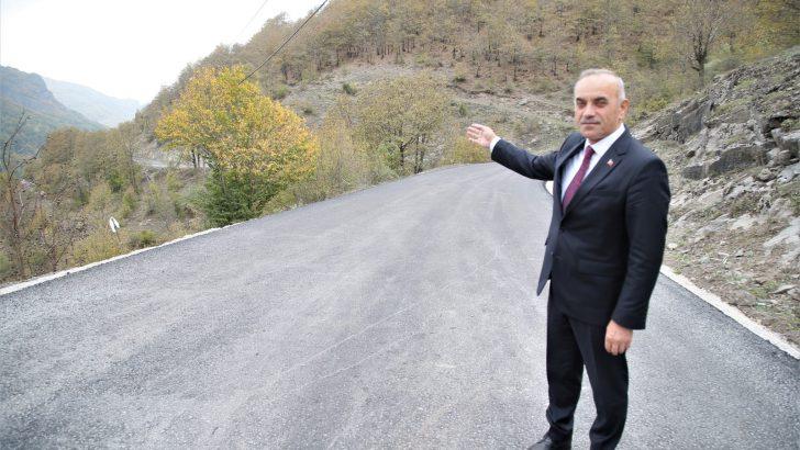 BAŞKAN TEKİNTAŞ SALMAN-SEFERLİ GRUP YOLUNU İNCELEDİ