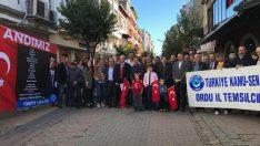 Türkiye Kamu-Sen  Andımız Okullarda Tekrar Okutulsun