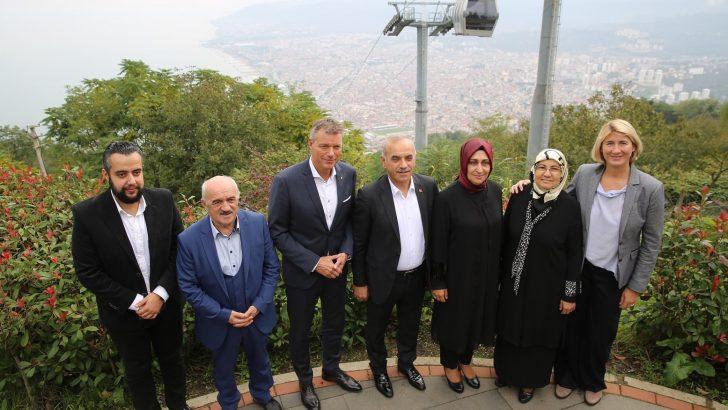 Başkan Tezcan, İki Belediye Arasındaki Kardeşliğin Tabana Yayılmasını İstiyoruz