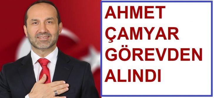 Başkan Ahmet Çamyar Görevinden Uzaklaştırıldı