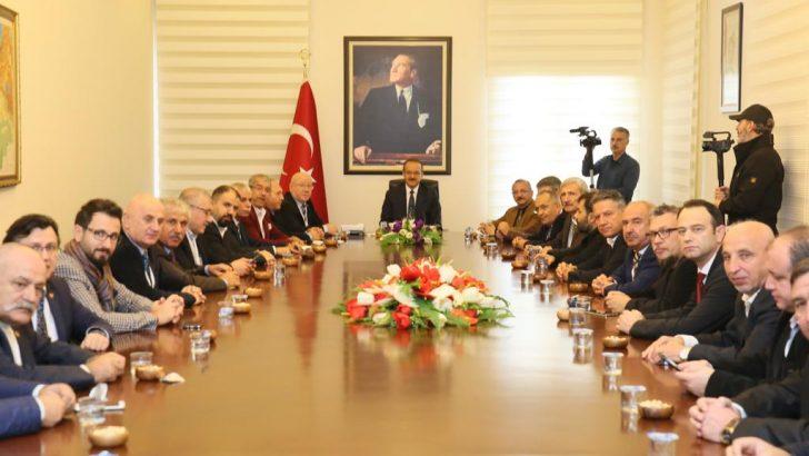 TGK Yönetim Kurulu, Vali Yavuz'u Ziyaret Etti
