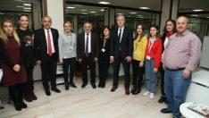 Başkan Engin Tekintaş, Altınordu Belediyesini ziyaret etti.