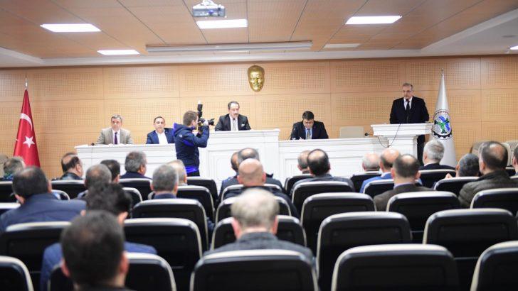 Ordu TSO Kasım ayı meclis toplantısı gerçekleşti