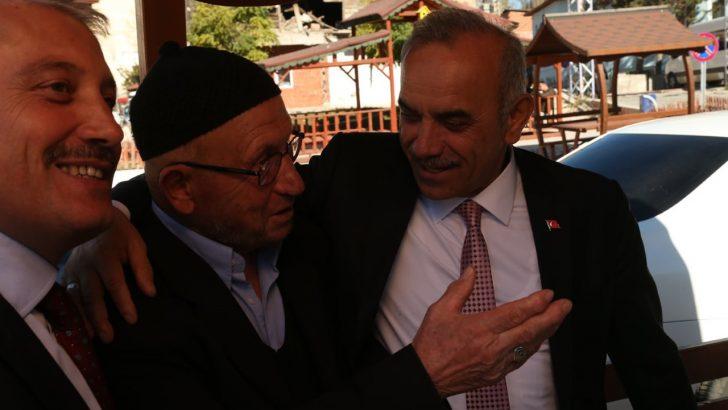 Başkan Tekintaş, Mesudiye'mizi Ak Parti ile Geleceğe Taşıyacağız