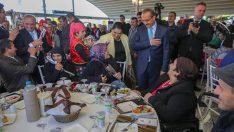 Vali Yavuz, Engellilerle Yemek Programında Bir Araya Geldi