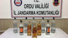 Ordu'da Sahte İçki Yakalandı
