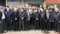 Büyükşehir Belediye Başkan Adayı Güler, muhtarla buluştu