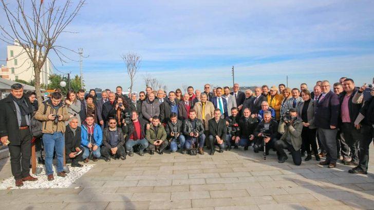 Vali Yavuz, Çalışan Gazeteciler Günü'nde Basın Mensuplarıyla Bir Arada Oldu