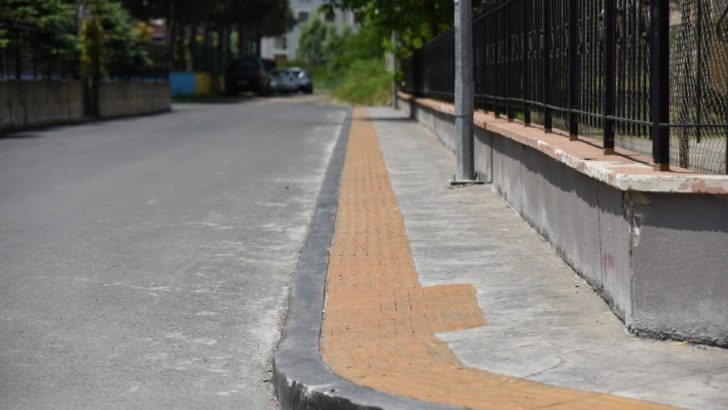 ALTINORDU'YA 88 BİN 500 METREKARE BASKI BETON KALDIRIM YAPILDI