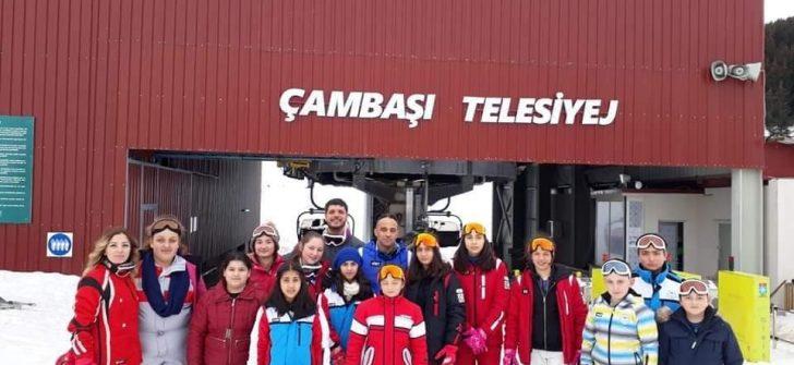 Ordu'da ÖNEM Çocukları İçin Kayak Eğitimi Düzenlendi