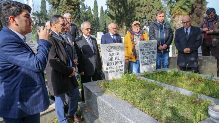 Merhum Gazeteciler Mezarları Başında Anıldı