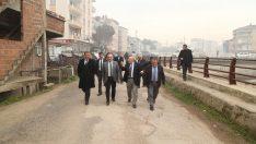 Başkan Tekintaş, Ünye İlçesinde Yol Çalışmalarını İnceledi
