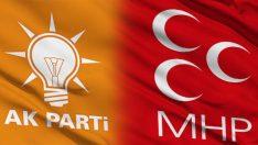 AK Parti ile MHP ortak meclis listesi yapacak.