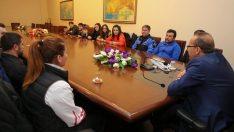Vali Yavuz, Başarılı Sporcuları Kutladı