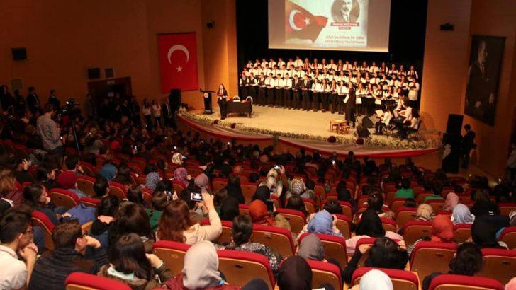 İstiklal Marşı'nın Kabulünün 98. Yıldönümü Kutlandı