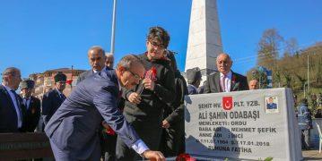 Ordu'da  Çanakkale Zaferi'nin 104. Yıldönümü Törenlerle Anıldı