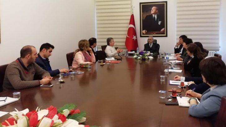 Ordu'da Turizmin Geliştirilmesi İçin Toplantı Gerçekleştirildi