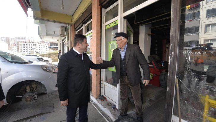 ALTINORDU AŞKIN TÖREN'İ BAĞRINA BASTI