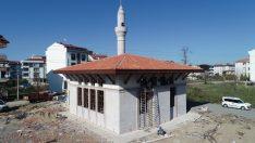 HZ. BİLAL CAMİ'NDE SONA GELİNDİ