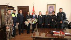 Polis Teşkilatı'ndan Vali Yavuz'a Ziyaret