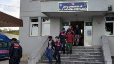 Ordu'da  Kaçak  12 Afgan Yakalandı