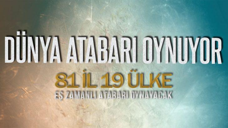 Dünyanın en büyük Atabarı etkinliği gerçekleşecek