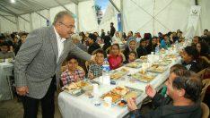 Başkan Güler, Orucunu halkın içinde açıyor