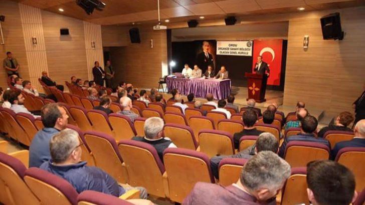 Ordu OSB'nin Genel Kurul Toplantısı Yapıldı