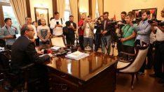 Vali Seddar Yavuz'un Dünya Basın Özgürlüğü Günü Mesajı