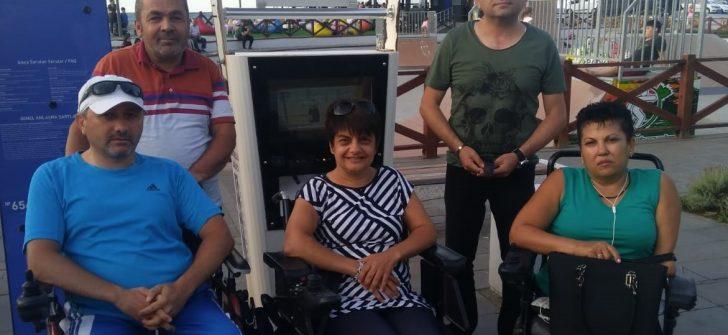 ENGELLİLER 'AKÜ ŞARJ İSTASYON'LARININ AKTİF HALE GETİRİLMESİNİ İSTİYOR