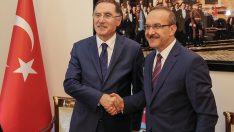 Kamu Başdenetçisi Malkoç, Vali Yavuz'u Ziyaret Etti