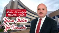 Gündoğdu'dan Gölköy Devlet Hastanesi İçin Müjde