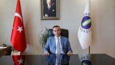 Rektör Akdoğan'dan Teşekkür Mesajı