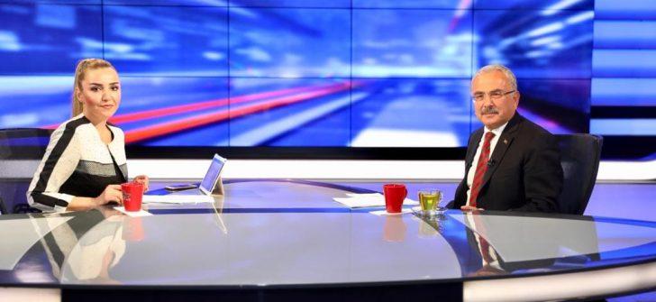 BAŞKAN GÜLER ALTAŞ TV'DE ORDU'YU YÖNETENLER PROGRAMINA KONUK OLDU