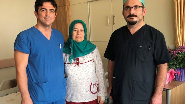 Ünye Devlet Hastanesi Doktorlarından Başarılı Operasyon!