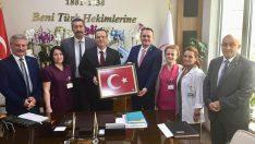 Ordu Türk Sağlık Sen'den Başhekime ziyaret