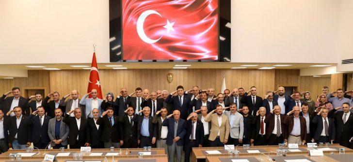 BÜYÜKŞEHİR MECLİSİNDEN 'BARIŞ PINARI HAREKÂTI'NA DESTEK